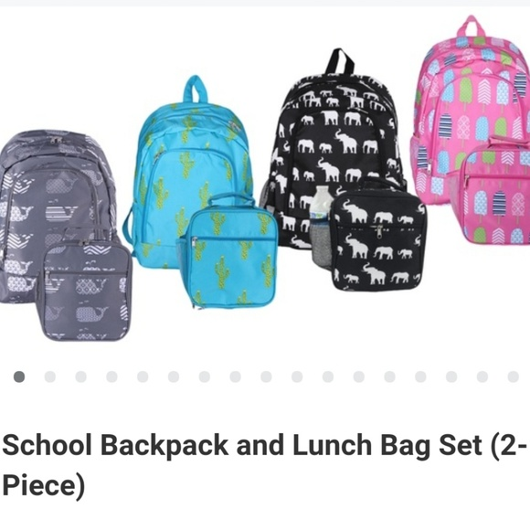 23c11d1d2797 NWT 2pc Boys Backpack and Lunchbox Set
